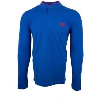 Vêtements Homme Polos manches longues Cerruti 1881 Firenza Bleu Roi