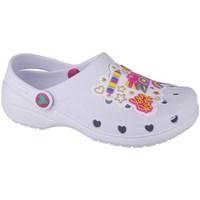 Chaussures Fille Sabots Skechers Heart Charmer Photobomb Blanc