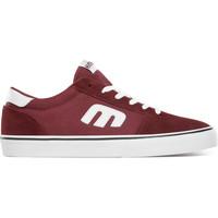 Chaussures Chaussures de Skate Etnies CALLI VULC BURGUNDY WHITE