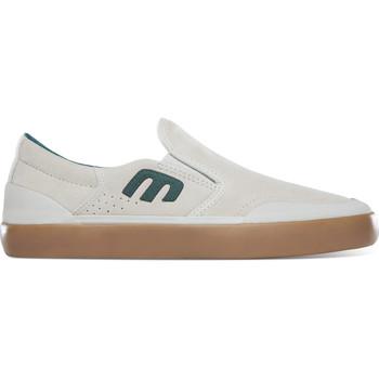 Chaussures Slip ons Etnies MARANA SLIP XLT WHITE GREEN GUM
