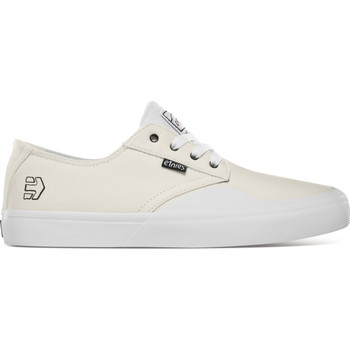 Chaussures Chaussures de Skate Etnies JAMESON VULC LS X SHEEP WHITE WHITE GUM