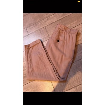 Vêtements Femme Pantacourts Zara Pantalon court rose Zara Rose