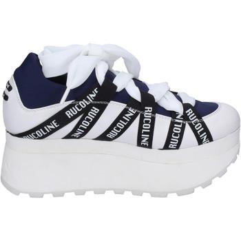 Chaussures Femme Baskets basses Rucoline BH374 Bleu