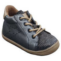 Chaussures Fille Boots Bellamy BALIKA METAL BLEU