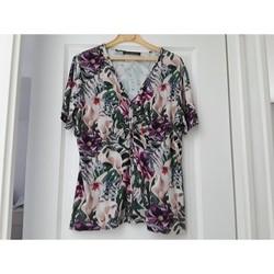 Vêtements Femme T-shirts manches courtes Betty Barclay tee shirt fleuri Multicolore