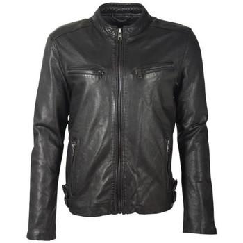 Vêtements Homme Vestes en cuir / synthétiques Deercraft DMLINX LAOV BLACK Noir