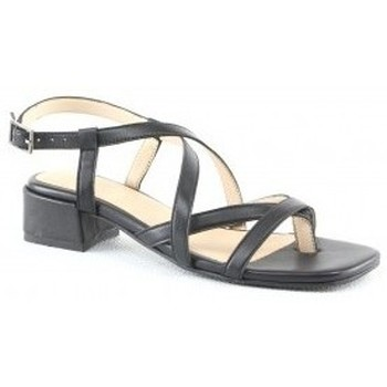 Chaussures Femme Sandales et Nu-pieds Manoukian Sandales Sana Noir