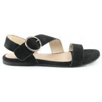 Chaussures Femme Sandales et Nu-pieds Manoukian Sandales Sandia Noir