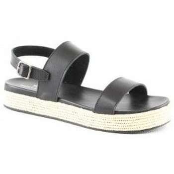 Chaussures Femme Sandales et Nu-pieds Manoukian Sandales Sansa Noir