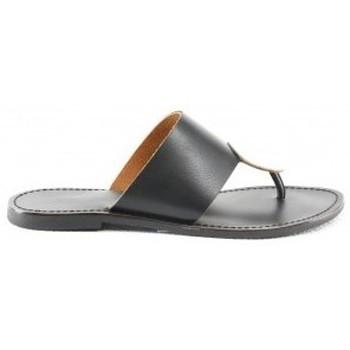 Chaussures Femme Sandales et Nu-pieds Manoukian Sandales Satine Noir