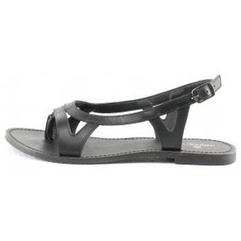 Chaussures Femme Sandales et Nu-pieds Manoukian Sandales Seta Noir