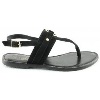 Chaussures Femme Sandales et Nu-pieds Manoukian Sandales Tacita Noir