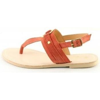 Chaussures Femme Sandales et Nu-pieds Manoukian Sandales Tacita Orange