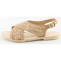 Chaussures Femme Sandales et Nu-pieds Manoukian Sandales Tamara Beige