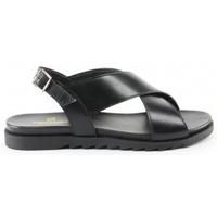 Chaussures Femme Sandales et Nu-pieds Manoukian Sandales Tanja Noir