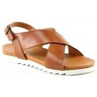 Chaussures Femme Sandales et Nu-pieds Manoukian Sandales Tanja Marron
