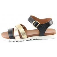 Chaussures Femme Sandales et Nu-pieds Manoukian Sandales Tatiana Doré