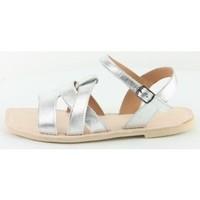 Chaussures Femme Sandales et Nu-pieds Manoukian Sandales Telma Argenté