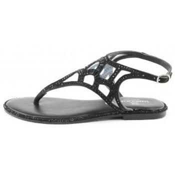 Chaussures Femme Sandales et Nu-pieds Manoukian Sandales Uma Noir