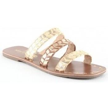 Chaussures Femme Sandales et Nu-pieds Manoukian Sandales Ursula Beige