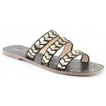 Chaussures Femme Mules Manoukian Sandales Ursula Noir