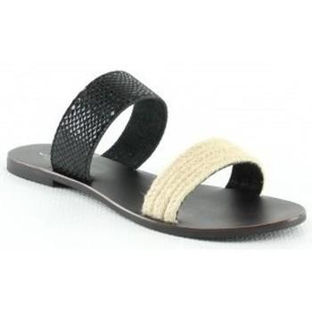 Chaussures Femme Mules Manoukian Mules Valeria Noir