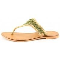 Chaussures Femme Tongs Manoukian Mules Vanessa Vert