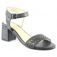 Chaussures Femme Sandales et Nu-pieds Manoukian Sandales Sade Noir