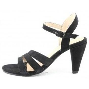Chaussures Femme Sandales et Nu-pieds Manoukian Sandales Sara Noir