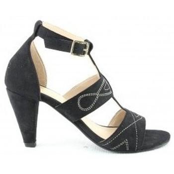 Chaussures Femme Sandales et Nu-pieds Manoukian Sandales Scarlett Noir