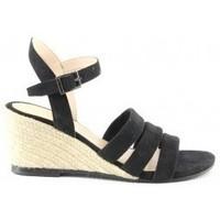 Chaussures Femme Sandales et Nu-pieds Manoukian Sandales Sabia Noir
