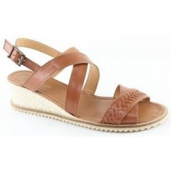 Chaussures Femme Sandales et Nu-pieds Manoukian Sandales Tamy Multicolore