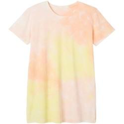 Vêtements Femme Pyjamas / Chemises de nuit Pommpoire Big tee en coton bio imprimé tie & dye Woodstock Rose