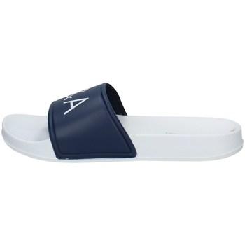 Chaussures Homme Claquettes Baci & Abbracci 12001 Bleu