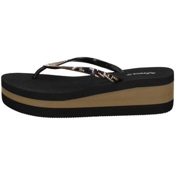 Chaussures Femme Tongs De Fonseca SASSARI E W625 NOIR