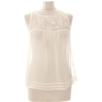Vêtements Femme Débardeurs / T-shirts sans manche Abercrombie Débardeur  36 - T1 - S Blanc