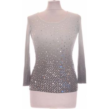 Vêtements Femme Tops / Blouses Armand Thiery Top Manches Longues  36 - T1 - S Gris