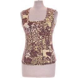 Vêtements Femme Débardeurs / T-shirts sans manche Armand Thiery Débardeur  36 - T1 - S Marron