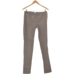 Vêtements Femme Pantalons Pieces Pantalon Slim Femme  40 - T3 - L Gris
