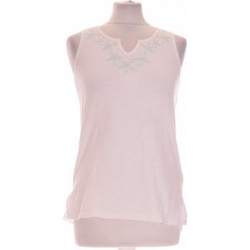 Vêtements Femme Débardeurs / T-shirts sans manche Intimissimi Débardeur  36 - T1 - S Blanc