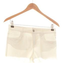 Vêtements Femme Shorts / Bermudas H&M Short  36 - T1 - S Beige