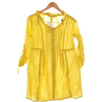 Vêtements Femme Robes courtes Deca Robe Courte  34 - T0 - Xs Jaune