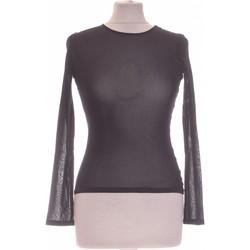 Vêtements Femme Tops / Blouses Camaieu Top Manches Longues  38 - T2 - M Noir