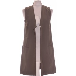 Vêtements Femme Gilets / Cardigans Forever 21 Gilet Femme  36 - T1 - S Vert