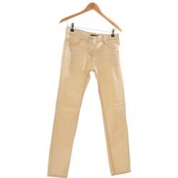 Vêtements Femme Pantalons Apostrophe Pantalon Droit Femme  36 - T1 - S Beige