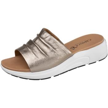 Chaussures Femme Mules Caprice 27203-341 Taupe Metallic