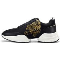 Chaussures Baskets mode Ed Hardy Caged runner tiger black-gold Noir
