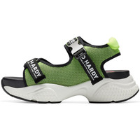 Chaussures Sandales sport Ed Hardy Aqua sandal green-black Vert