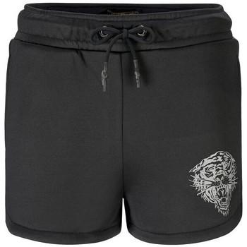 Vêtements Shorts / Bermudas Ed Hardy Tiger glow runner short black Noir