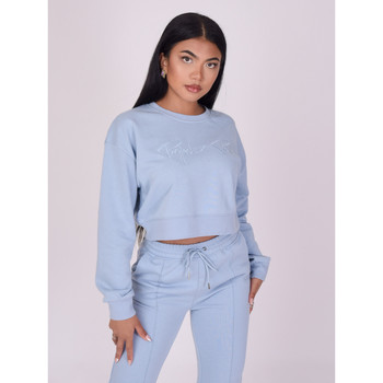 Vêtements Femme Sweats Project X Paris Sweat-Shirt Bleu Ciel